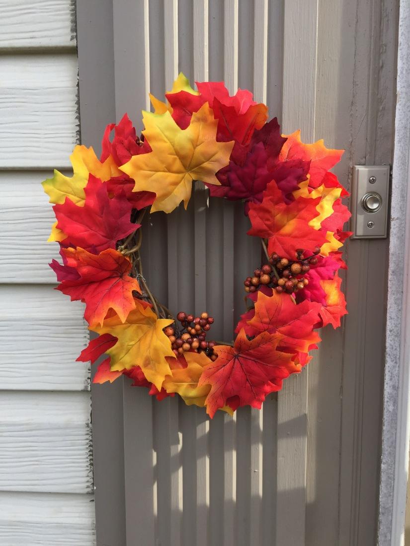 Easy DIY Mini FallWreath