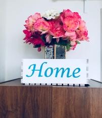DIY Handpainted Home Wood Crate