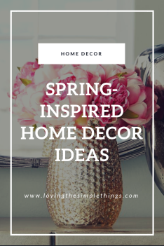 Spring-Inspired Home Decor Ideas