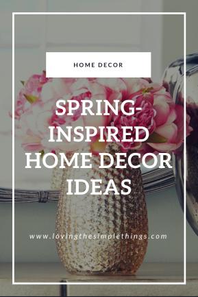 Spring-Inspired Home Decor Ideas