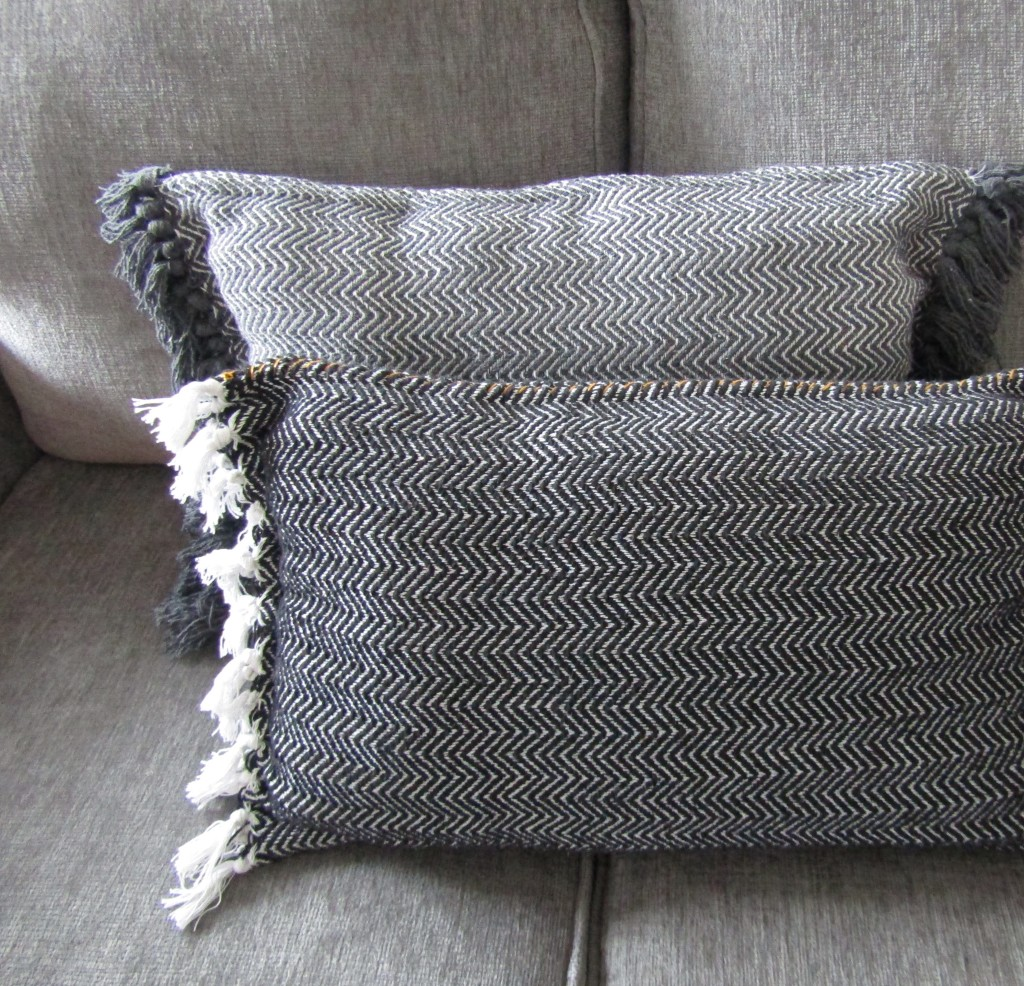 DIY Boho Woven Throw Pillow. How to Sew a Boho Woven Throw Pillow