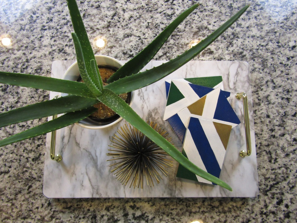 How to reuse laminate floor sample to make coaster. DIY decorative coaster set. DIY coasters using acrylic paint. DIY laminate wood coasters